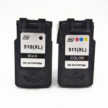 PG-510 CL-511 PG510 Ink Cartridge For Canon PG 510 CL511 Pixma iP2700 MP250 MP270 MP280 MP480 MX320 MX330 MX340 MX350 Printer картридж с чернилами rx 2 1 canon pg 510 cl 511 canon mp270 mp280 mp480 mp490 mx350 mp240 ip2700 pg 510 cl511