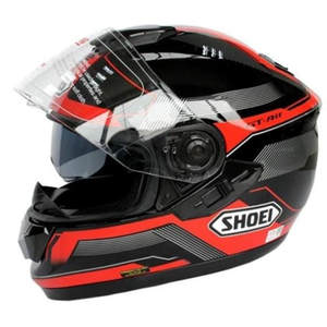 Pc material safety helmet Discount Face dual lens motor motorcycle hat
