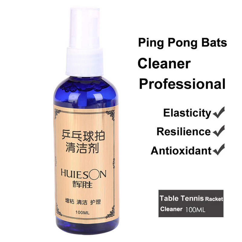 100ML Professional Table Tennis Rubber Cleaner Ping Pong Clean Wash  Racket School Accessory Sports Bts Material UV