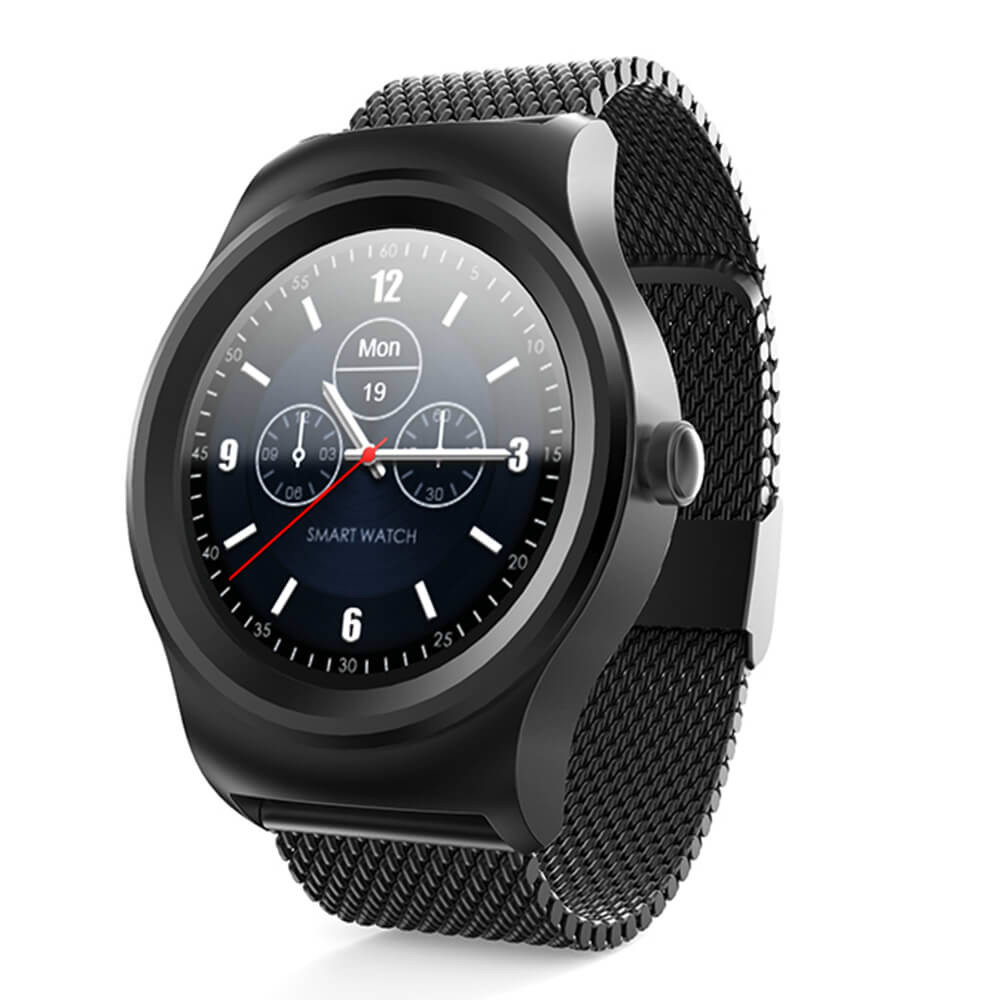 2017 New Smar Dual Bluetooth Smart Watch Mtk2502 Heart Rate Monitor Fitness Tracker Siri Voice Control Info Push For Android Ios bluetooth smart watch heart rate monitoring g3 plus smartwatch support siri voice control raise bright screen for android ios