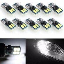 FYSZ T10 LED W5W 194 Vehicle lamp instrument 8smd-3030led width indicator decoding reading lamp12V-24V 10Pcs