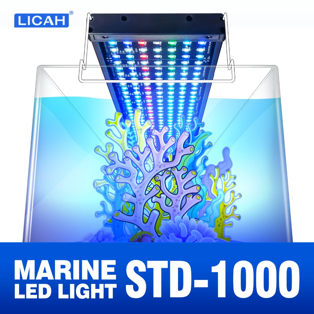 LICAH Saltwater Aquarium LED LIGHT STD-1000 Free Shpping