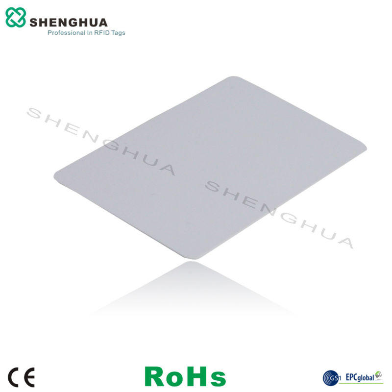 10PCS RFID Cards UHF CARDS Smart CARD WHITE For Parking Access Control System 85*54MM EPC1 G2 H3