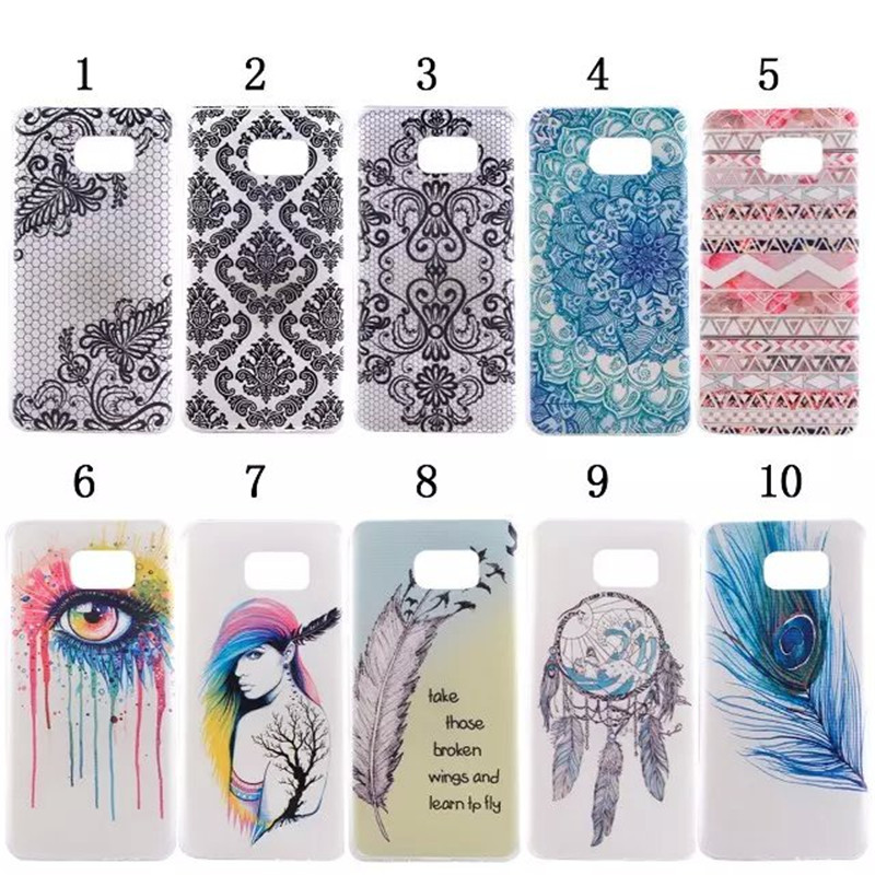Fashion Ultra Thin Soft TPU Pattern Case For Samsung Galaxy Note 5 N9200 Silicone ShockProof Phone Back Cover,XX-P019