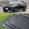 For BMW X5 2014 2015 2016 Rubber Foam Trunk Tray Liner Cargo Mat Floor Protector