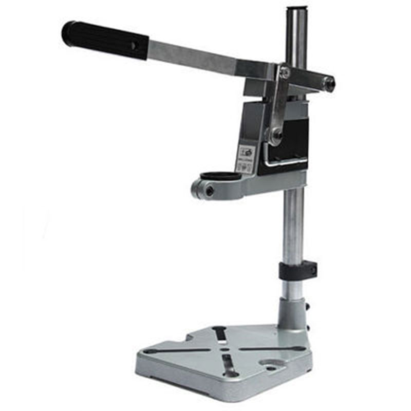 Single-head Electric Drill Holding Holder Bracket Grinder Rack Stand Clamp for Woodworking Useful Power Tool Accessory electric power drill press stand table for drill workbench repair tool clamp for drilling collet table 35