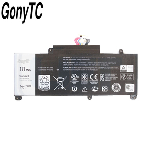 Image 2 - Gonytc 18Wh 3.7V 74XCR 074XCR Original Laptop Battery For Dell Venue 8 Pro 5830 T01D VXGP6 X1M2Y Tablet Series Genuine Battery