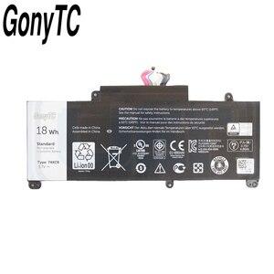 Image 2 - Gonytc 18Wh 3.7V 74XCR 074XCR batterie dordinateur portable dorigine pour Dell Venue 8 Pro 5830 T01D VXGP6 X1M2Y tablette série batterie dorigine