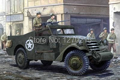 Hobby Boss 1/35 U.S. M3A1 White Scout Car Late Production #82452Hobby Boss 1/35 U.S. M3A1 White Scout Car Late Production #82452