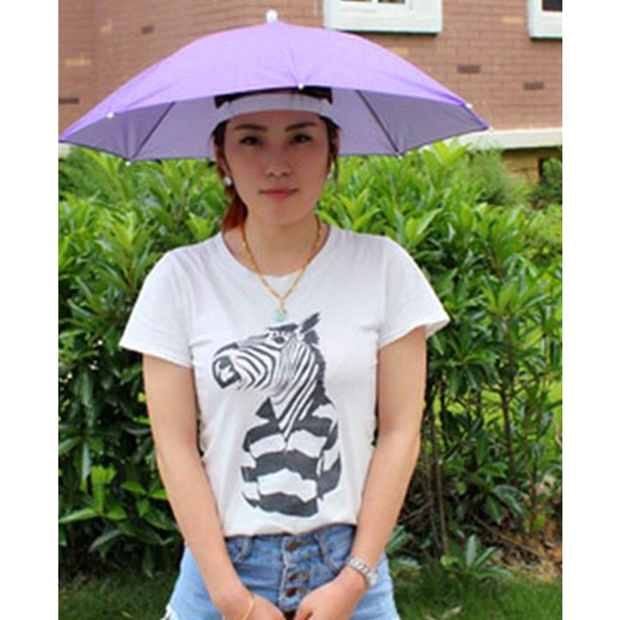 2017 New Outdoor Foldable Sun Umbrella Hat Golf Fishing Camping Headwear Cap Head Hat S925 camouflage fishing hat bee keeping insects mosquito net prevention cap mesh fishing cap outdoor sunshade lone neck head cover