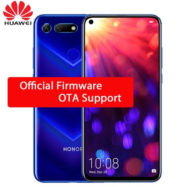 HUAWEI Honor View 20 Smartphone V20 Android 9.0 kirin 980 Octa Core FingerPrint ID 6.4 inch 3*Cameras 4000 mAh Cell Phone