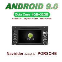 OTOJETA Car GPS 7inch Android 9.0 Radio FOR PORSCHE CAYENNE bluetooth Navigation Capacitive screen support mirror link