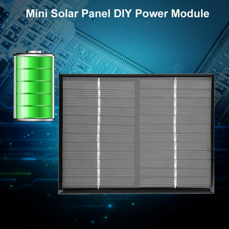 1.5W Solar Panel 12V Mini Portable Polycrystalline Silicon Solar Panel Power Module Char ...