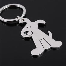 Metal Cat Keychain Fashion Animal Key Holder Personalized Car Pendant Women Bag Charms Accessories Woman Men's Gift Cheap clef