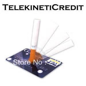 Телекинетические кредитные магические фокусы