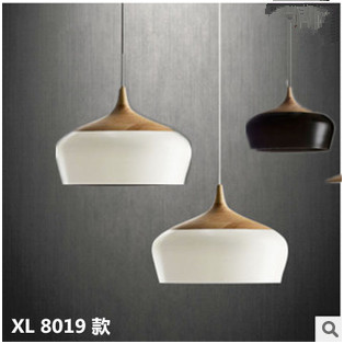 modern minimalist aluminum pendant lamp bar cafe restaurant bedroom