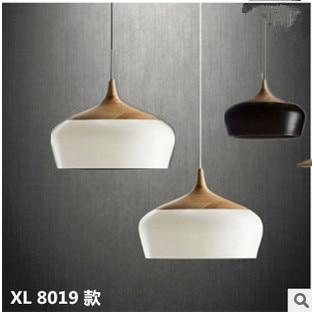 Exceptional Modern Minimalist Aluminum Pendant Lamp Bar Cafe Restaurant Bedroom  Single Head Wood Pendant Light Lamp