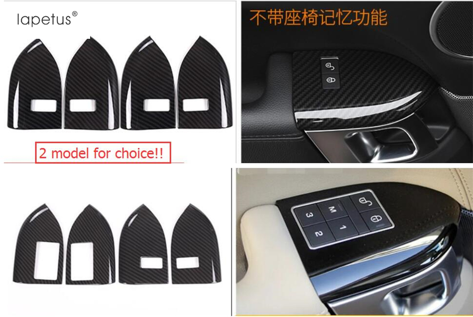 US $52 16 19% OFF|Accessories For RANGE ROVER Sport 2014 2015 2016 2017  Child Safety Lock Button Switch Frame Molding Cover Kit Trim 4 Pcs / Set-in