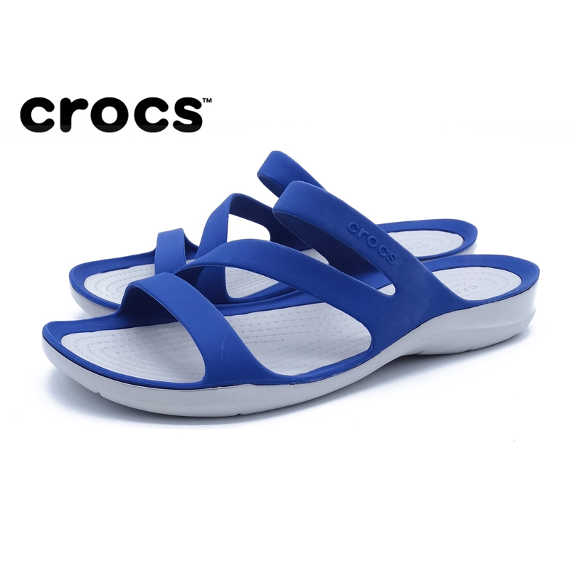 Crocs outdoor breathable sandals Kaluochi womens shoes new tide ladies casual flat shoes wading beach shoesCrocs outdoor breathable sandals Kaluochi womens shoes new tide ladies casual flat shoes wading beach shoes