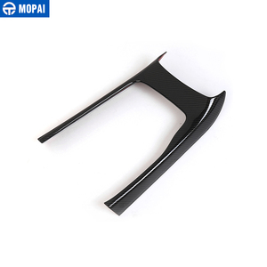 Image 2 - MOPAI ABS Car Interior Console Gear Shift Panel Decoration Cover Trim Stickers For Jeep Grand Cherokee 2014 Up Car Styling