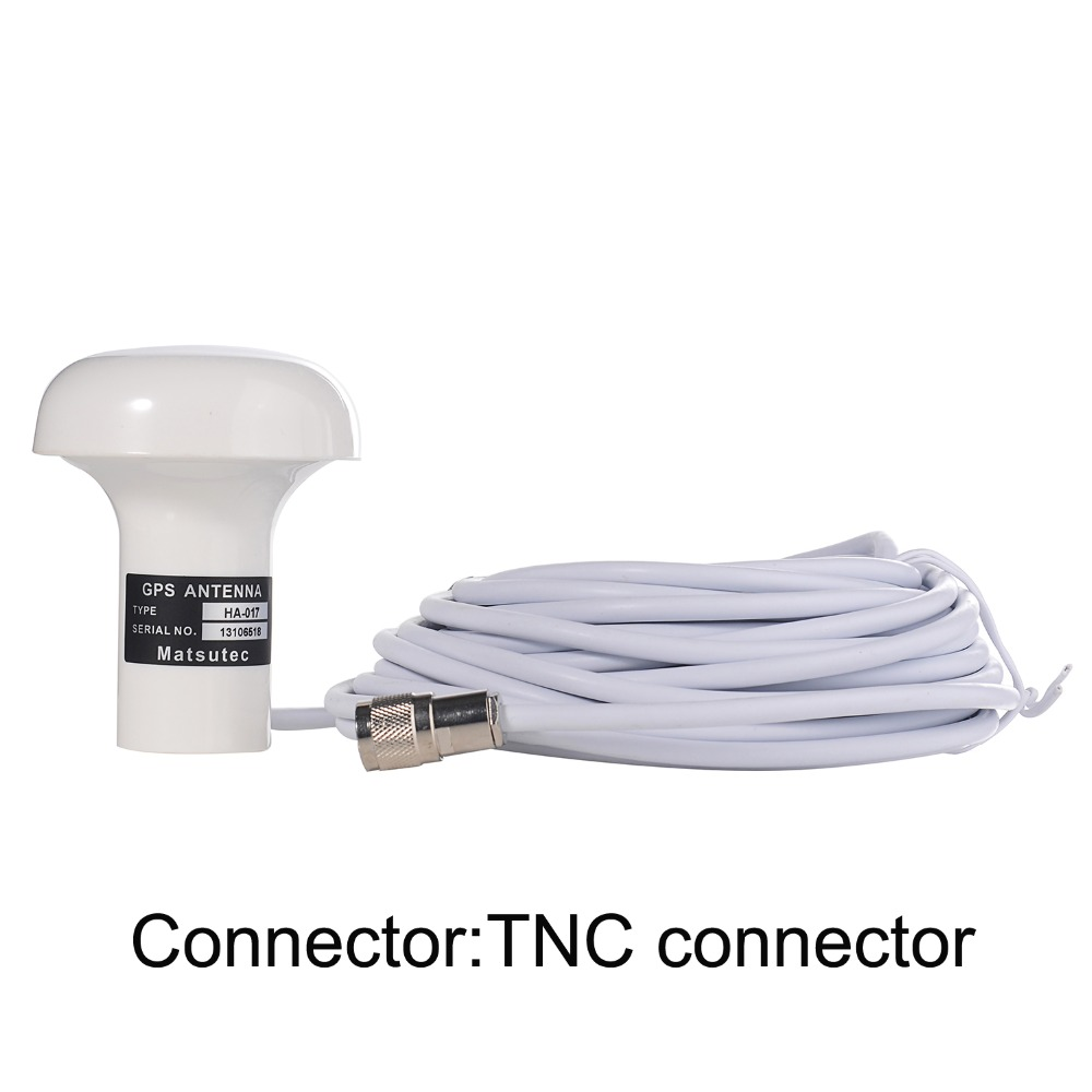 hight resolution of matsutec 1 pcs of gps antenna ha 017 marine gps antenna with 10 meter cable tnc connector