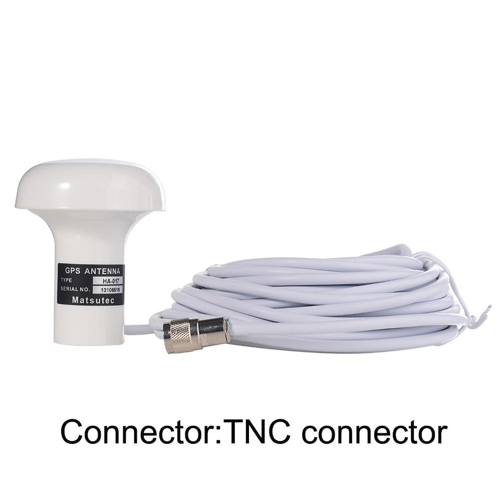 matsutec 1 pcs of gps antenna ha 017 marine gps antenna with 10 meter cable tnc connector [ 1000 x 1000 Pixel ]