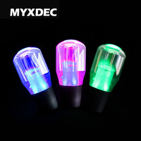 Universal 10/15/20cm Car RGB Color Changing Crystal Bubble Eectroplate Gear Shift Knob Manual Shifter Stick For Toyota Honda