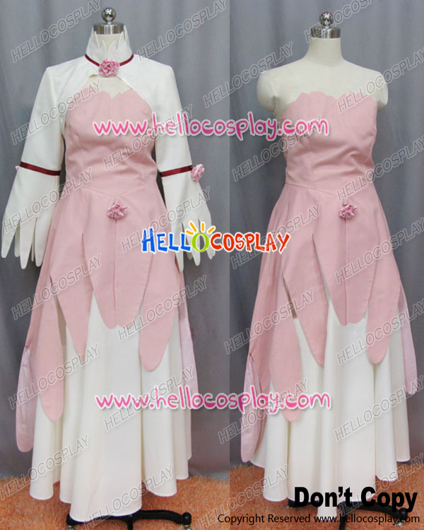 Japanese Anime Outfit Code Geass Cosplay Euphemia Li Britannia Dress Costume H008