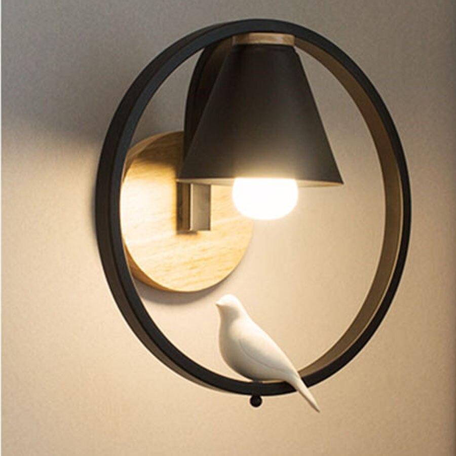 Wandleuchten Der GüNstigste Preis Thrisdar Nordic Moderne Led Wand Lampe Schmiedeeisen Cartoon Led Wand Licht Foyer Aisel Balkon Tür Nacht Wand Lampen