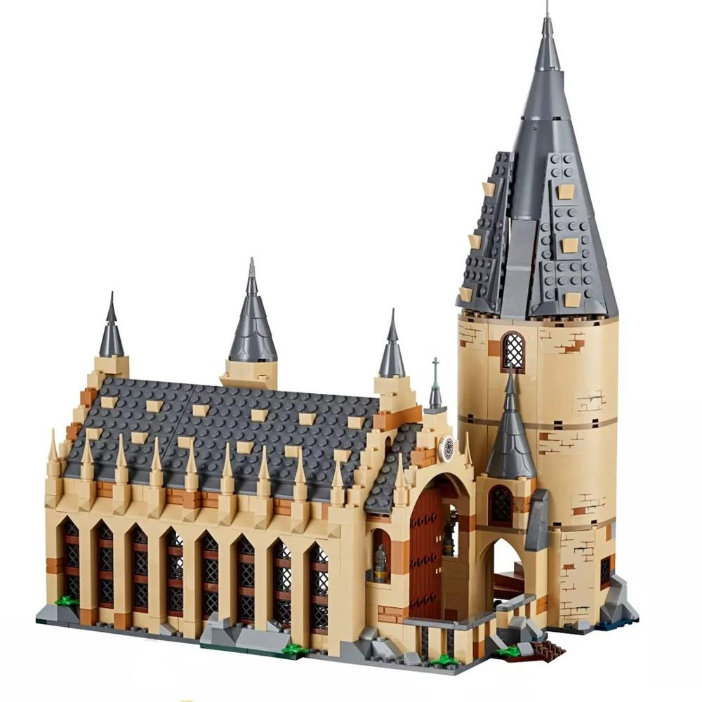 2018 New Fit The Great Wall Set Ron Hermione Voldemort Model Building Blocks House Kids Toys For Christmas Gifts