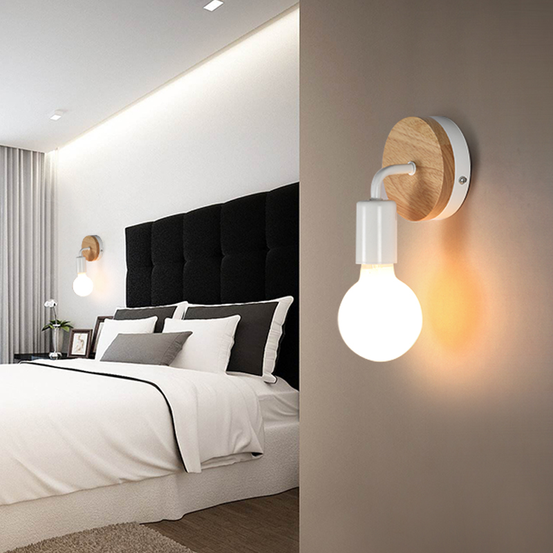 Led Indoor Wall Lamps Lights & Lighting De.soul Wall Lamps Indoor Aluminum Wall Lamp Bedroom Bedside Lamp Aisle Hotel A Living Room Originality Led Sconce