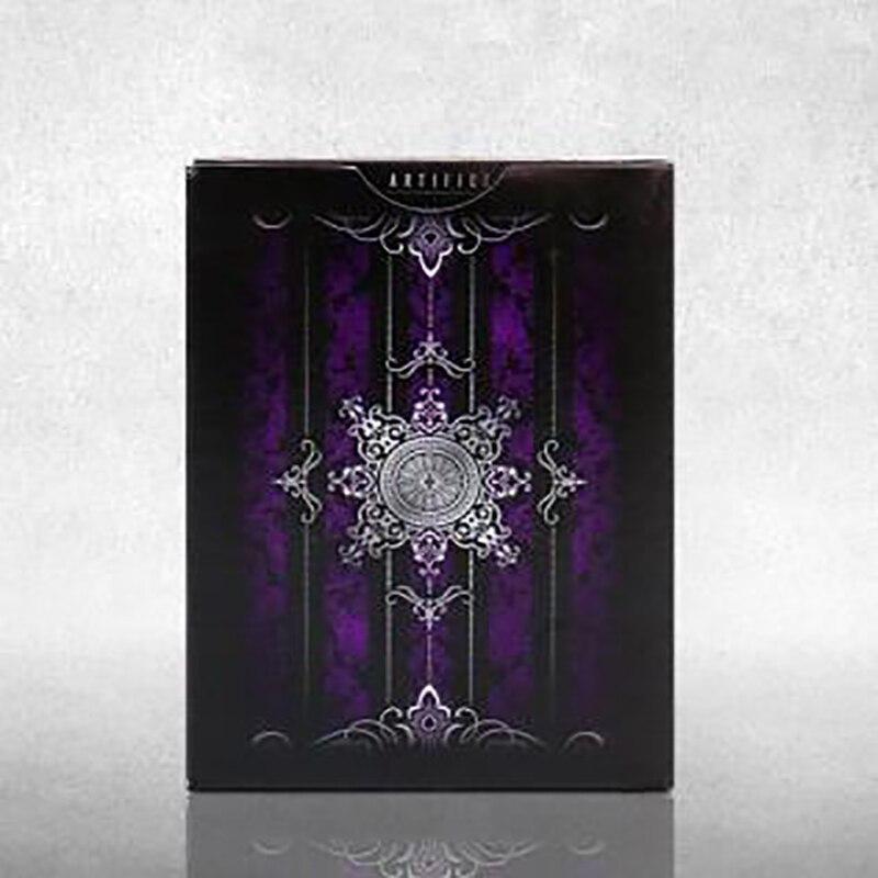 Purple Artifice Deck Ellusionist magic tricks magic props playing cards