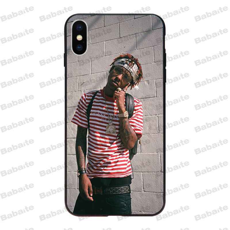 premium selection e7fd3 29035 Babaite rich the kid rapper Coque Shell Phone Case for iPhone X XS XR XSMax  6 6S 7 7plus 8 8Plus Xs 5 5s SE 5c
