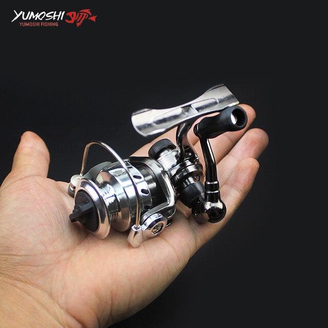 Metal Ultra Light Fishing Spinning Reel 4.3:1 150g Mini Ice Fishing Reel  Metal