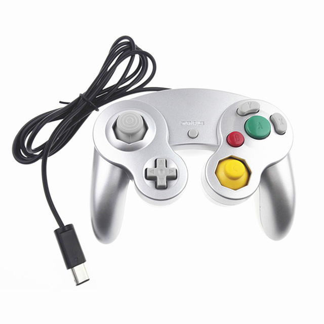 2016 Classic Wired Controller Joypad Joystick Gamepad For Nintendo For Gamecube Controller For Wii Vibration Gameing
