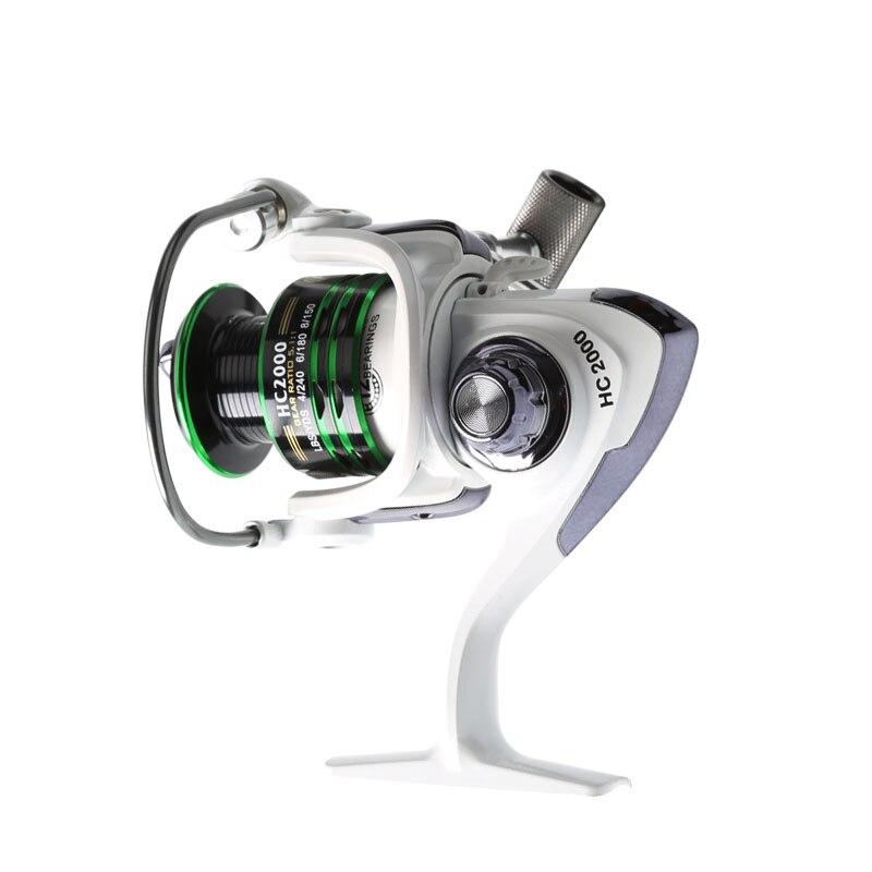 Fishing Spinning Reel Max Drag 8KG Mela Super Light Weight Body Gear Ratio 5.2:1 Carp Fishing Reels Bait Cast Reel Accessories
