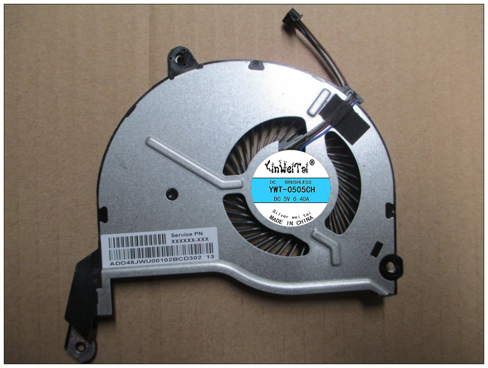 Laptop CPU Cooling Fan For HP Pavilion 15 TouchSmart 15-n000 15-N019SA 736218-001 736278-001 AB08805HX070B00 FB5007M05SPA-001 574680 001 1gb system board fit hp pavilion dv7 3089nr dv7 3000 series notebook pc motherboard 100% working