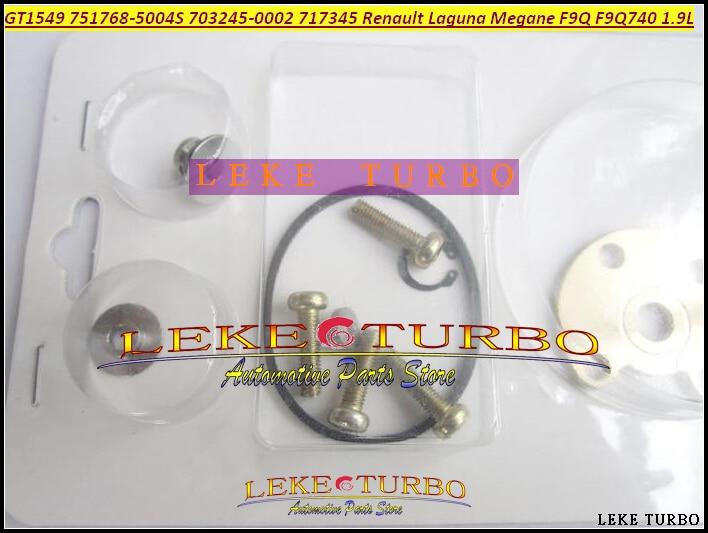Turbocharger Repair Kit rebuild Turbo GT1549 751768-5004S 703245-0002 717345 For Renault Laguna Megane SCENIC TRAFIC F9Q F9Q740 turbo cartridge core gt1549s turbocharger chra for renault trafic ii 1 9 dci f9q 74kw 2000 751768 717345 703245