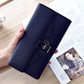 New Arrivals Womens Wallets Ladies PU Leather Handbags Female Bag Brand Clutch Coin Purse Portefeuille Femme