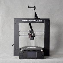 Дешевые выгодные цены 3D-принтеры, wanhao 3D принтер i3 плюс, RepRap комплект с хорошим touch ЖК-дисплей, принт с PLA/abs/pva/нити