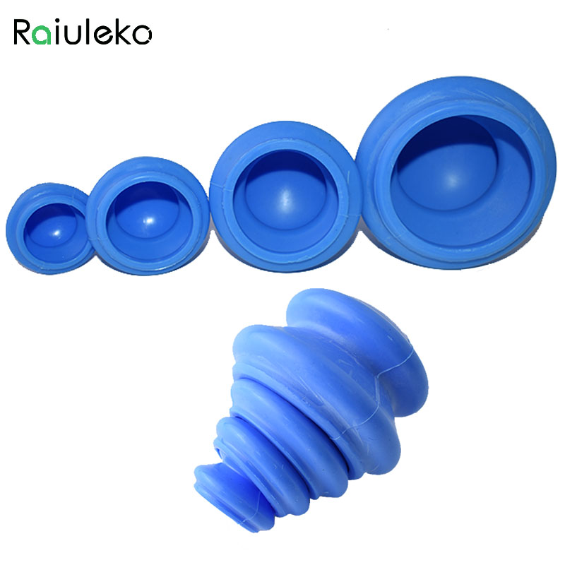 4pcs 4 size Silicone Massage Cup Face Legs Arms Care Treatment Facial Body Cupping Cup Moisture Absorber Vacuum Cupping high quality precision skin analyzer digital lcd display facial body skin moisture oil tester meter analysis face care tool
