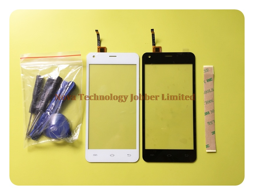 Wyieno 100% Tested Black/White Sensor For DEXP Ixion ES550 Soul 3 Pro Touch Screen Digitizer Glass Panel Replacement + tracking