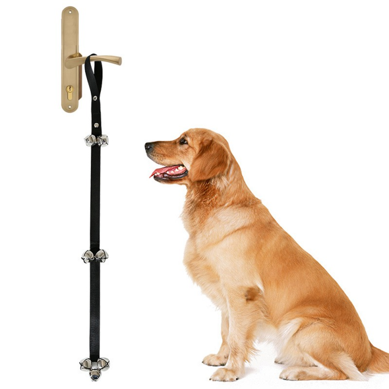 Pet Dog Training Dog Doorbell Rope Housetraining And Communicate Alarm Door  Bell For Dogs And Cats Adjustable