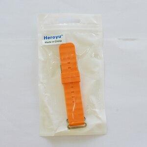 Image 5 - Remplacer le bracelet de montre intelligente pour le bracelet de montre Q90 Q750 Q100 Q60 Q80 bracelet de surveillance GPS pour enfants bracelet en Silicone avec connexion