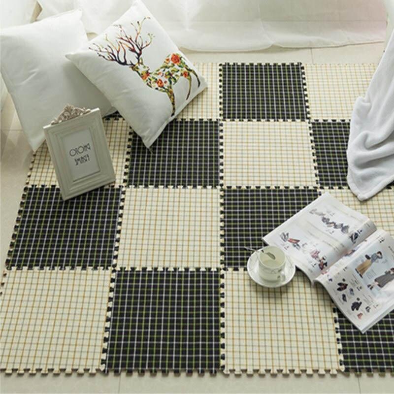 Chambre épissage salon tapis carré mousse maison tapis de sol bébé ramper tapis chambre lit plein magasin mignon Tatami