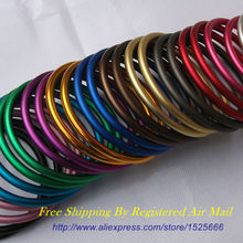 Free Shipping 10pcs/5pairs 3″ Large Size Aluminum Rings for Newborns Slings