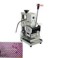 110/220 V בית DIY לסכל STAMPING מכונת טיפר משחת ברונז PVC כרטיס + 1 משלוח רדיד נייר JB 223-בחלקי כלים מתוך כלים באתר