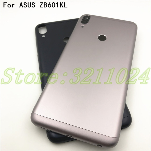 US $10 99 |Original For ASUS ZenFone Max Pro M1 ZB601KL ZB602KL Battery  Cover Case Back Door Back Housing With Side Buttons-in Mobile Phone  Housings &