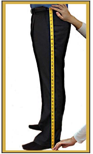 Pants Length Measurements