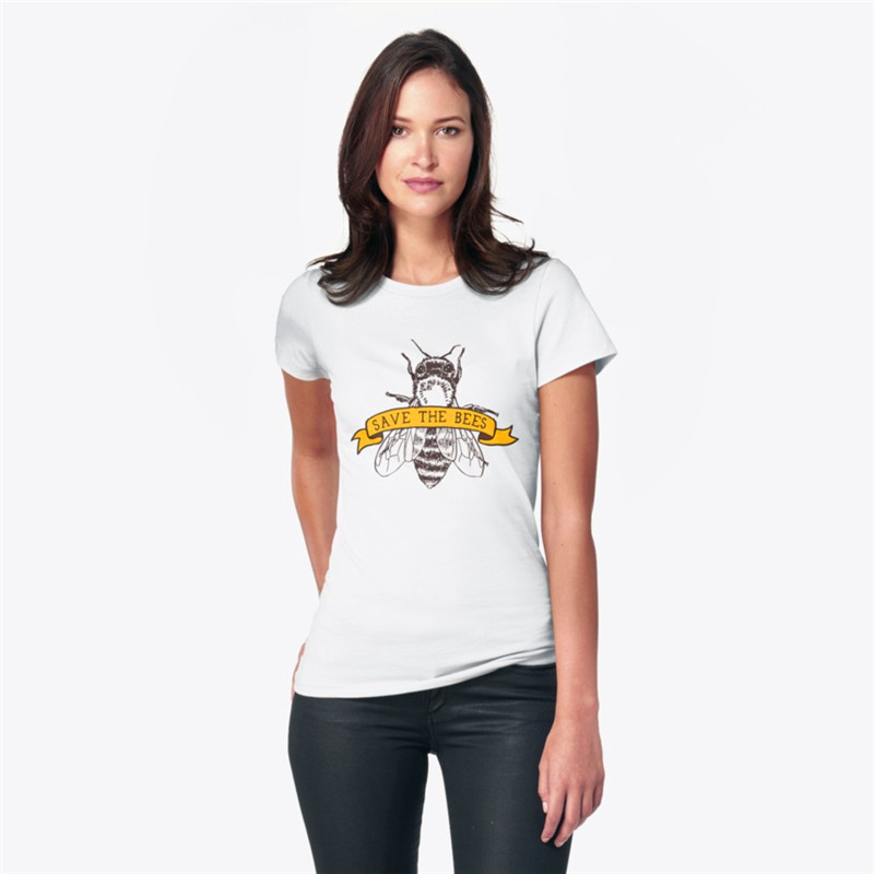_Save The Bees!_ T-Shirt by comfykindness _ Redbubble - 1